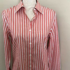 Brooks Brothers Blouse Size 6 Fitted